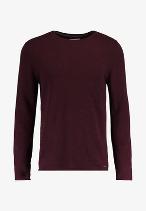 BASIC - Jumper - bordeaux