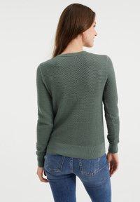 WE Fashion - Cardigan - olive green - 2