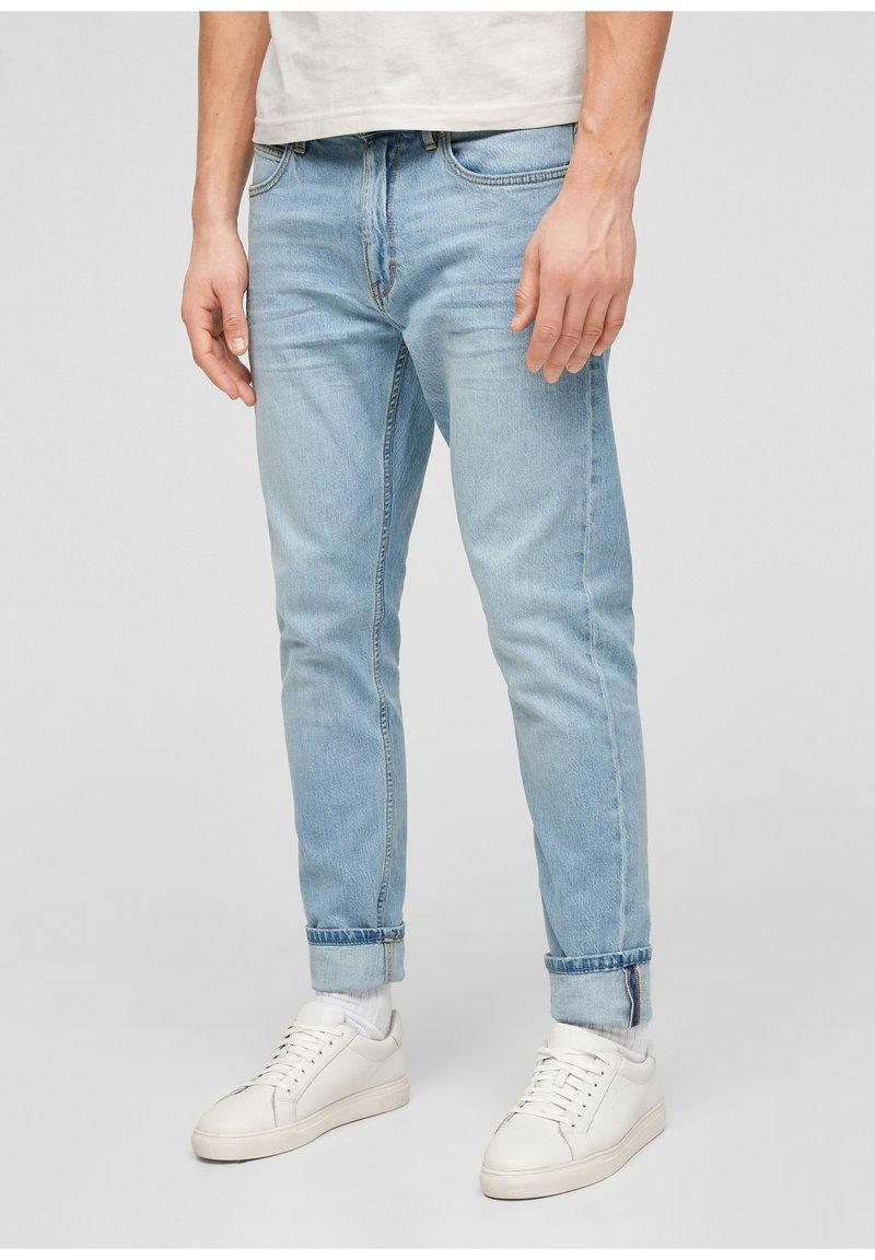 s.Oliver - Jeans Tapered Fit - light blue