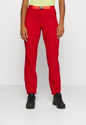 DEERING - Outdoorové kalhoty - burgundy