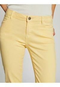 Morgan - Jeans Skinny Fit - yellow - 3