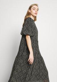 ONLY - ONLNINA MIDI DRESS - Day dress - black/graphic - 3