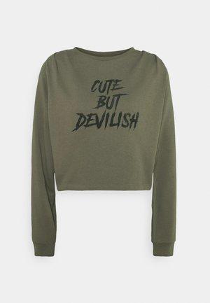 NMJOAN - Sweatshirt - kalamata