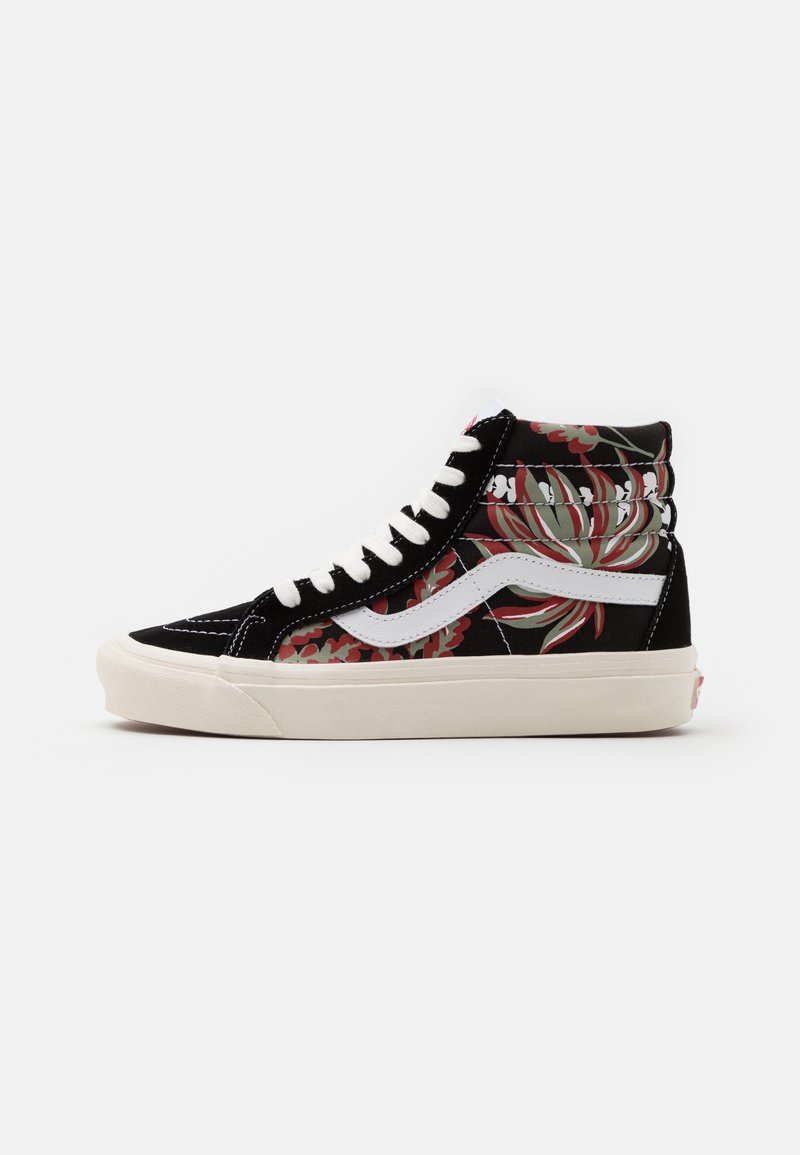 Vans - ANAHEIM SK8 38 DX UNISEX - High-top trainers - black/yellow/red