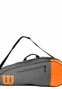 Wilson - Racket bag - grau orange - 1