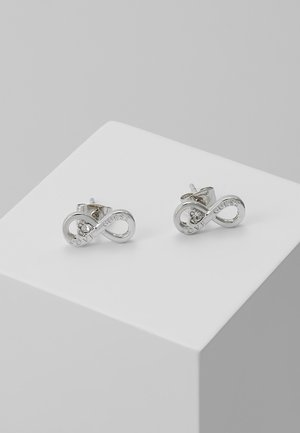 ENDLESS LOVE - Earrings - silver-coloured