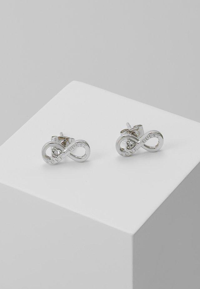 ENDLESS LOVE - Earrings - silver-coloured