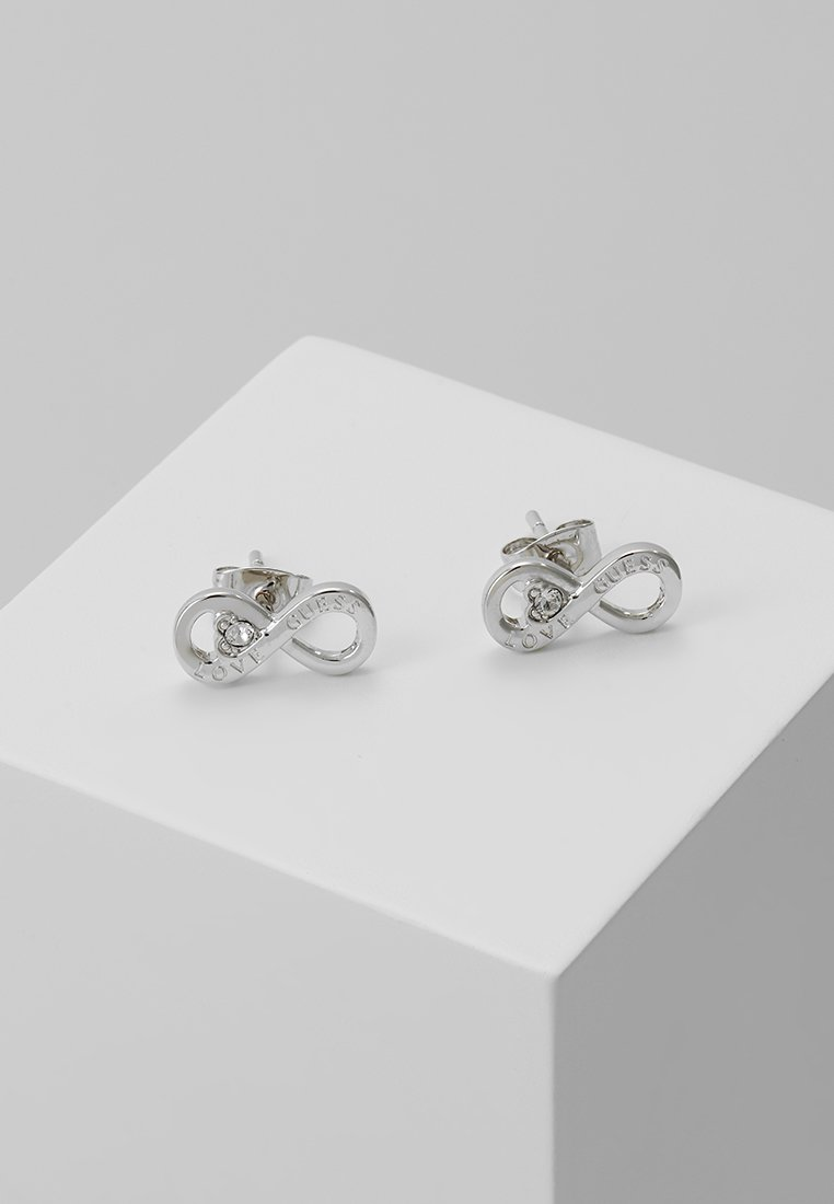 Guess - ENDLESS LOVE - Earrings - silver-coloured