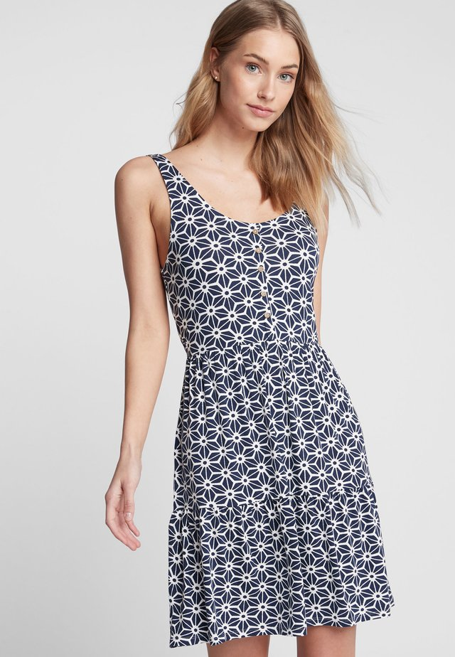 Vestido informal - mottled blue