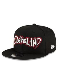 New Era - NBA20 CITY OFF 9FIFTY SNAPBACK CLEVELAND CAVALIERS - Cap - schwarz - 5
