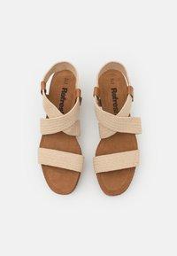 Refresh - Sandales à plateforme - beige - 5