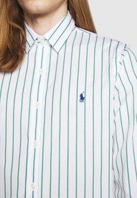 Polo Ralph Lauren - NATURAL - Shirt - green/white - 5