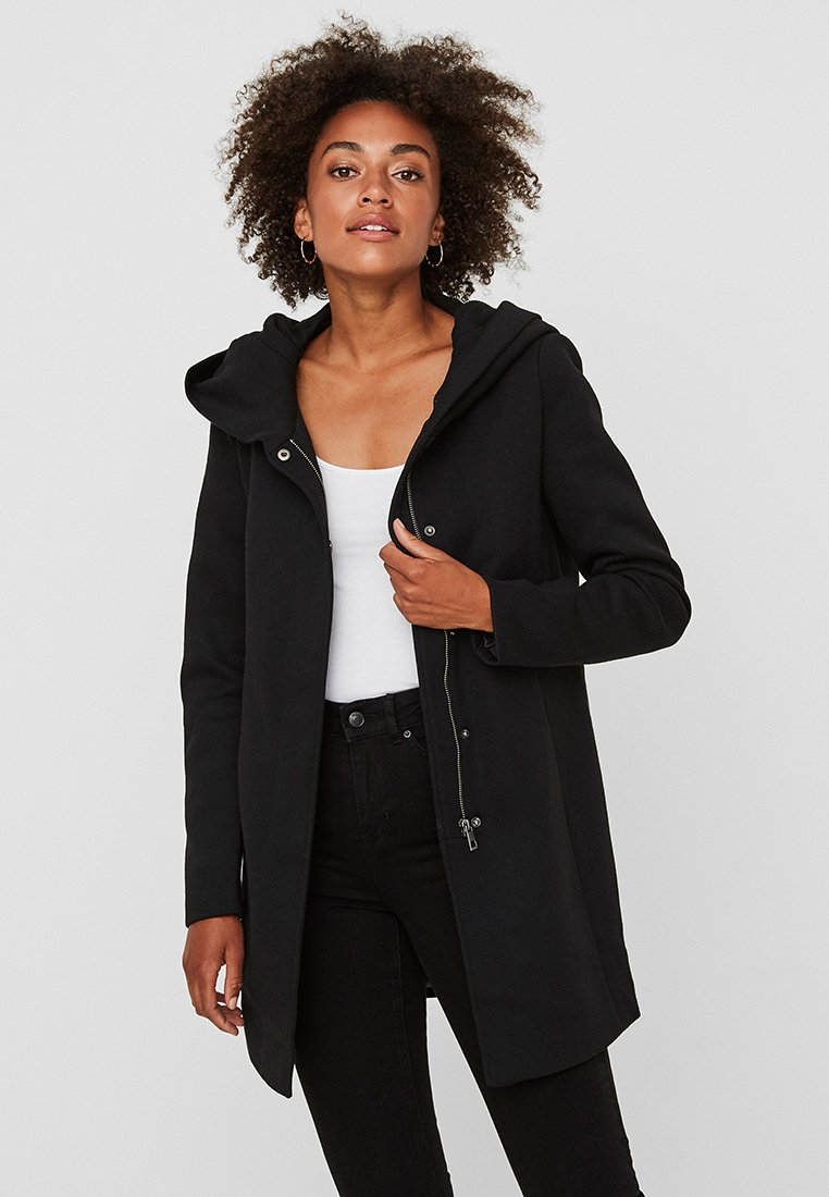 Vero Moda - VMVERODONA - Short coat - black