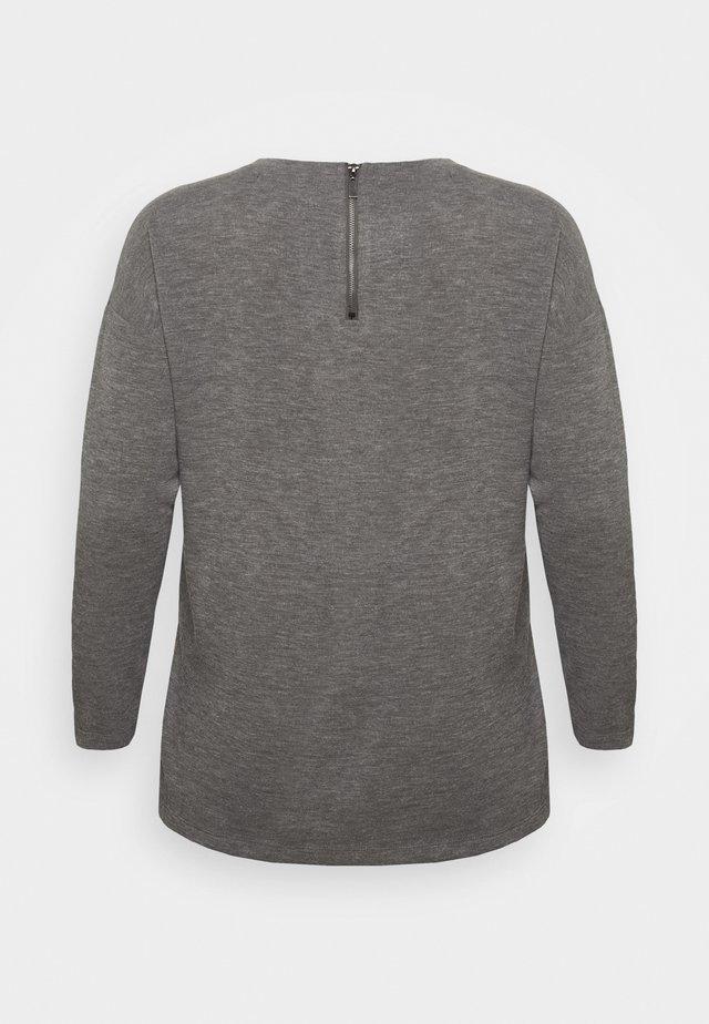 VMAMAIMARCO O NECK - Pullover - medium grey melange