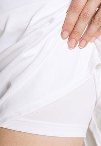 adidas Performance - CLUB LONG SKIRT - Spódnica sportowa - white/silver - 4