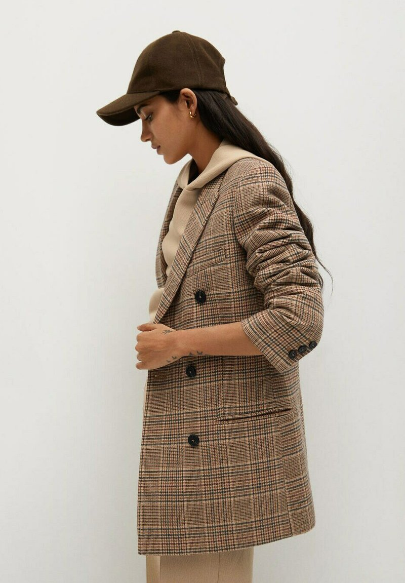 Mango - CECILIA - Short coat - braun