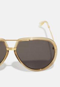 Gucci - UNISEX - Sunglasses - green/gold-coloured/grey - 2