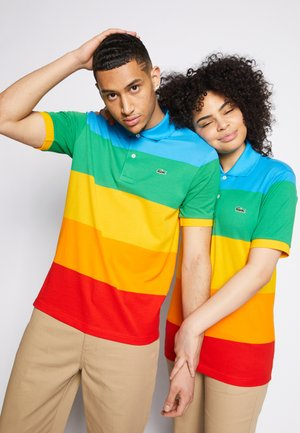 POLAROID UNISEX - Polo shirt - fiji/malachite/gypsum/orpiment/corrida