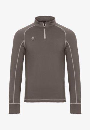 GORNER - T-shirt à manches longues - dark grey silver