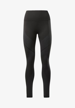 SEAMLESS LEGGINGS - Tights - black