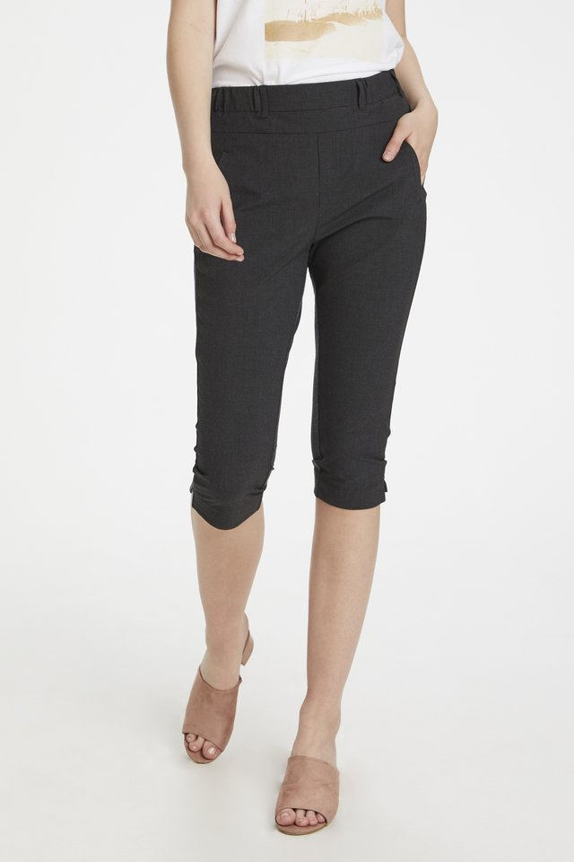 JILLIAN SOFIE - Shorts - dark grey melange