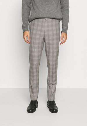 GREY BURG CHECK  - Pantalon - grey