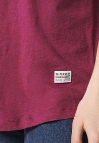 G-Star - LASH FEM LOOSE - Basic T-shirt - dark finch heather - 4