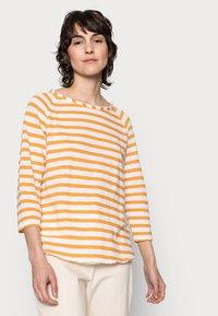 Rich & Royal - HEAVY JERSEY LONGSLEEVE - Long sleeved top - golden orange - 3