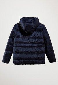Massimo Dutti - MIT KAPUZE  - Down jacket - dark blue - 3