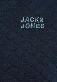 Jack & Jones - JCOCUT ZIP BASEBALL - Neuletakki - navy blazer - 6