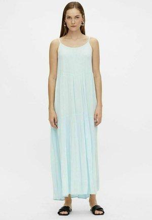 Długa sukienka - corydalis blue