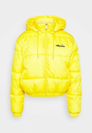 CAMILLA - Vinterjakke - yellow