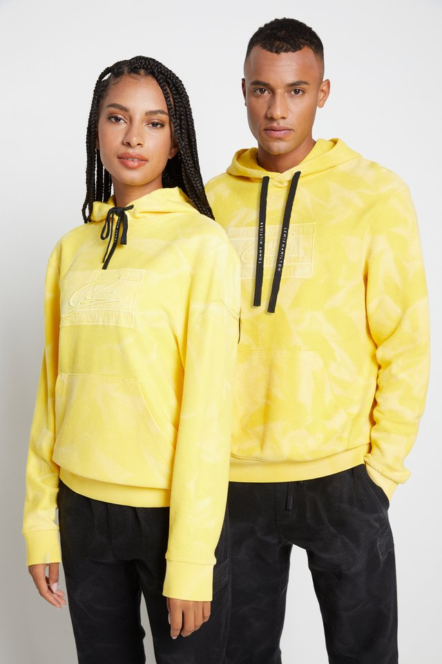LEWIS HAMILTON UNISEX GMD FLAG HOODY - Sweat à capuche - marigold yellow