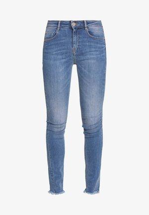 SOUL CROPPED - Skinny džíny - light blue