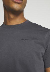 Pepe Jeans - ALBERT UNISEX - Print T-shirt - steel grey - 6