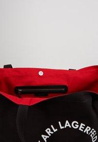 KARL LAGERFELD - RUE ST GUILLAUME TOTE - Shopping Bag - black - 5