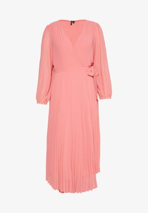 VMLAUREN WRAP DRESS - Cocktailkjoler / festkjoler - tea rose