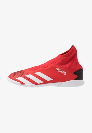 PREDATOR 20.3 LL IN - Indoor football boots - action red/footwear white/core black