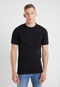 DRYKORN - ANTON - T-shirt - bas - black - 0