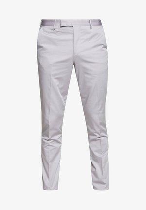 GENTS SLIM FIT TROUSER - Spodnie materiałowe - lilac