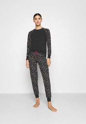 NIGHT OUT - Pyjamaser - black