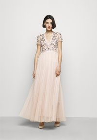 Needle & Thread - PRAIRIE FLORA BODICE DRESS - Ballkjole - pink encore - 1