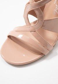 New Look - SWIRLEY - High heeled sandals - oatmeal - 2