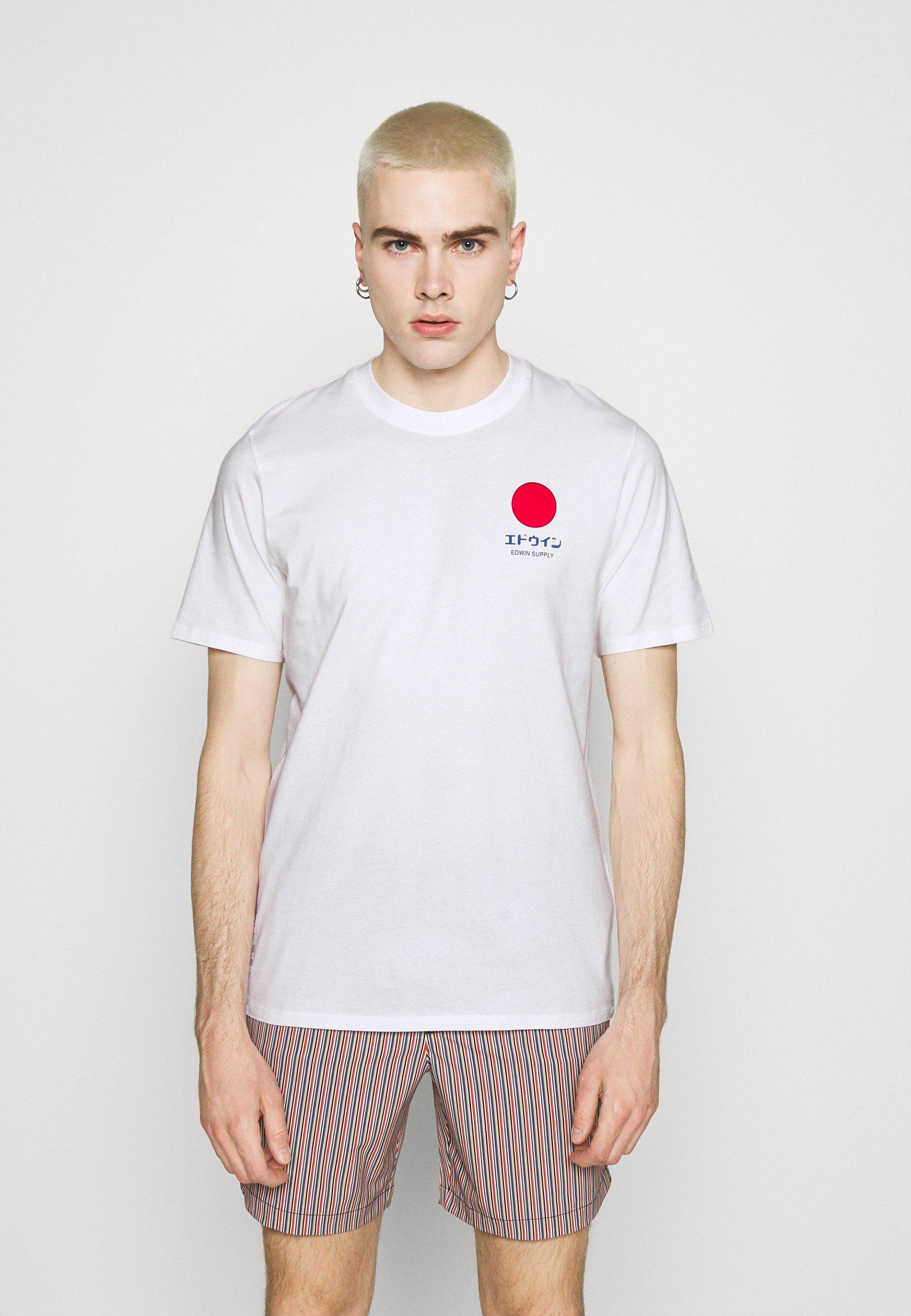 Men SUNRISE SUPPLY UNISEX - Print T-shirt - white