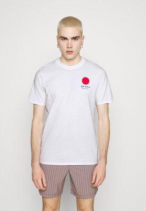 SUNRISE SUPPLY UNISEX - Print T-shirt - white
