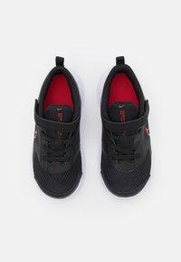Nike Performance - DOWNSHIFTER 11  - Neutral running shoes - black/universe red/dark smoke grey/white - 3