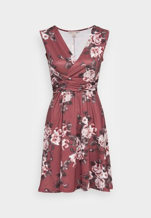 CACHE COEUR PRINTED DRESS - Jersey dress - light pink