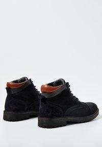 Pepe Jeans - PORTER  - Šněrovací kotníkové boty - azul marino - 3