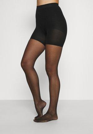 SPECTACULAR LEGS - Punčocháče - backseam black