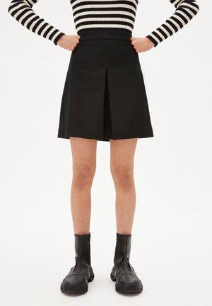 DANAAE - A-line skirt - black